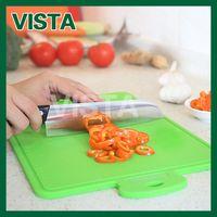Wholesale Silicone Mat Chopping Board - Wholesale-New Flexible Silicone Chopping Board Durable Nonslip Heat Resistand Kitchen Cutting Mat Green