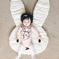 Wholesale Floor Mat Cushions - 2017 Ins Cute Miffy Crawling pad Floor Mats Baby Playmat Photography Cartoon Mutifunction Infants cushion Mat Baby's bedroom Home furnishing