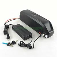 cellules de batterie ebike achat en gros de-Taxe acellulaire Sanyo GA 52V 17.5Ah Nouveau Hailong Batterie 14S5P 1000W haute puissance vers le bas Tube eBike Lithium ion Batterie + Chargeur