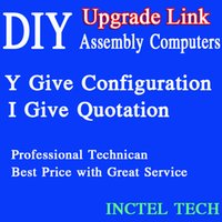 Wholesale Mini Fanless Desktop Pc - INCTEL Fanless Mini PC Thin Clients Desktop Computer All In One Touchscreen PC 1U Network Server etc Upgrade Link