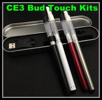Wholesale Stylus Pen Multi - Bud Touch Kit O Pen CE3 280 mah Buttonless Stylus Battery 510 Cartridge Oil Wax Vape Pen Aluminium Case
