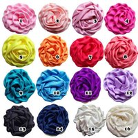 Wholesale Felt For Babies - 2016 Hair accessories,Ruffle Flower for DIY Hair Shoes Clothes Corsage,Mini felt Flowers,flowers for baby girls headband