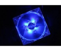 Wholesale Computer Cooling Fan Blue - New 120mm Fans 4 LED Blue For Computer PC Case Cooling With Low Price