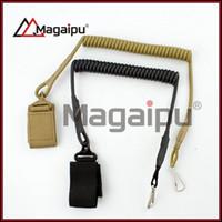 "Wholesale Elastic Gun Belt - Lanyard Elastic Spring Coil Sling for Airsoft Pistol GBB Hand Gun 1"" - 2.5"" Belt"