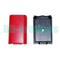 alojamiento del controlador al por mayor-Cubierta de la caja de batería de colores Carcasa Shell para Xbox 360 Xbox360 Controlador inalámbrico Reemplazo recargable Negro Blanco Rojo Rosa 100pcs / lot