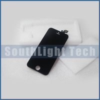 Wholesale Parts Offers - Bulk Price Offering Grade AAA No Dead Pixels For Iphone 5 5G LCD Digitizer Touch Screen Replacement Full Assembly Display Parts Black Color