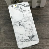 Wholesale Cheap Galaxy Phone Cases - 2016 For iphone 6 6s i6 plus 6plus 5 5s samsung galaxy s6 s5 case TPU Marble Cases back cover cell phones cases new arrivals cheap