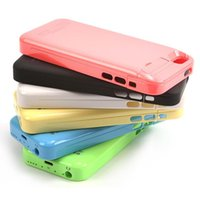 Wholesale Iphone5 Case Power Bank - Protective Battery Case 2200mAh External Power Bank Charger Case Backup Battery For Iphone5 5S 5c L0192507