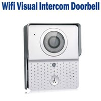 Wireless Wifi Visual Intercom Doorbell Câmera de vídeo Door Bell para Home Security System Support iOS Android