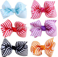 Wholesale Cheap Girls Bows For Hair - 10%off hot sale Kid Girl baby bow headband hair Flower Hairband baby hair accessories for hair hair cheap hairpins 12pcs lot