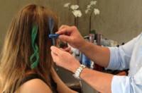 Wholesale Temporary Hair Dye Sticks - 6PCS Non-toxic Hair Dye Temporary Salon Colors Chalk Pastel Stick Vermicelli Chalk Color Powder Brush Hair Chalk