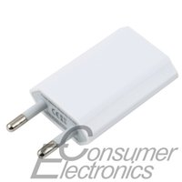 Wholesale I Phone Wall - 1pc High Quality 5V 1A EU Plug AC Travel USB Wall Charger for i for iPhone 3GS 4G 4S 5 Cell Phones Adapter, Hot Selling