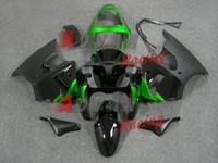 plasticine ücretsiz nakliye toptan satış-Ücretsiz kargo + 10 hediyeler kawasaki ninja zx6r 2000-2002 carena corpo di plastica reg
