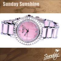 Wholesale Eyki Women - Wholesale-100% real EYKI brand women rhinestone dress watches ceramic quartz watch waterproof ladies watch creat diamond crystal watch