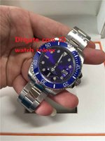 Wholesale glow watches - Mens High Quality Luxury AAA Watch GMT Noob Factory V2 blue Ceramic Bezel 40mm Glowing 116610 ETA 2813 Movement Automatic Mens Watches