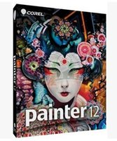 WIN 7 WINXP WinVista painting graphics - The most realistic computer digital art painting software Corel Painter v12 in English