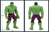 Wholesale Avenger Toys - 2015 Hot sale 12 Inch Avenger alliance Green Giant the hulk plastic toy doll action figure the avengers for baby