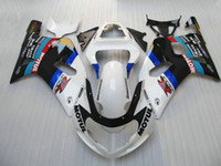 Wholesale Gsxr K1 Fairing - bodywork fairing for Suzuki GSXR 600 750 K1 GSX-R600 gsxr750 2001 2002 2003 00 01 02 03 could add OEM stickers