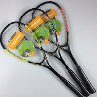 squash bags - Top selling Squash racket i160 colors aluminum carbon one piece squash racquet with string and cover bag head squash raquete