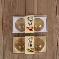 подарочные коробки кексы оптовых-Прозрачный пластиковый кекс упаковочная коробка торт купол сувениры коробка контейнер свадьба кекс коробки подарочные коробки поставки ZA5480