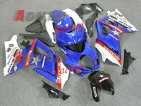 Wholesale Suzuki Blue Decals - Blue Decals Injection Fairings Bodywork kit Suzuki GSXR1000 2007-2008 OEM 31