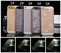 Wholesale Iphone 5s Cases Glowing - cellphone flash Multi Colors Flash LED Lighting Case For iphone 5 5S Glow Hard Cover Luminous