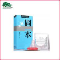 Wholesale Sex Lubrication - Okamoto Super Lubrication Skinless Skin Condoms Latex Condom Ultra-Thin Condoms Adult Sex Products 30pcs lot