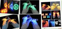 Wholesale Latest Models Shoes - 2pcs (2pcs =1pair) Latest model third generation LED Flashing shoelace light up shoe laces Laser Shoelaces