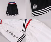 Wholesale Mix Order Color - Hottest Sale 2015 All Star Men's White Black Color Stitched Basketball shorts ,Wholesale Cheap Accept Mixed Order