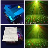 Atacado-1pcs / lot Novo Mini produto LED Laser Projetor DJ Disco Bar Stage Casa Lighting Luz