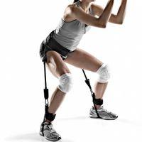 ingrosso cinghie di yoga-Resistance Band Fitness Bounce Trainer Corda Pallacanestro Tennis Running Jump Leg Strength Agility Training Cinghia Attrezzatura per il fitness 2018