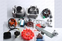 Chine Grand cylindre 61mm GY6 de kit de cylindre chinois du scooter 150cc A9, bobine de course de CDI