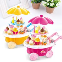 Al por mayor-Electronic Ice Cream Car Toy Light Music Kids Play Learning Educational House