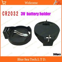 Wholesale the Cheapest CR2025 CR2032 General battery holder Battery Socket V button battery holder battery Case