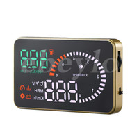 Wholesale One Parking System - Professional Car Alarm System X6 HUD Projector Head Up Display KM h MPH Over Speeding Warning OBD II Inteface HUD Styling K3072