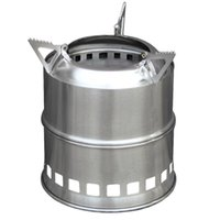 Wholesale Bbq Stove - Portable Stainless Steel Lightweight Stove Wood Solidified Alcohol Stove Outdoor Cooking Picnic BBQ Camping 00996