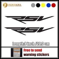 Wholesale Aprilia Stickers - motorcycle bike Fuel tank Wheels Fairing notebook Luggage helmet MOTO Sticker decals For Aprilia RSV LOGO