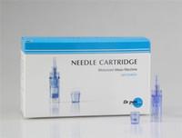 Wholesale Needles For Dermapen - Replaceable derma pen tattoo cartridges electric derma stamp 9 12 36 needles dermapen needle cartridge microneedle head for Dr.pen