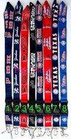 Wholesale FREE DHL SHIPPING Baseball MLB KEY Lanyard ID Holder For Party Key lanyard ID holders Mix order for collection