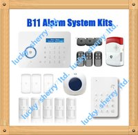 Wholesale Chuango Security Gsm Touch - Chuango B11 Chuango Dual network PSTN and GSM burglar Security Alarm System with Mini Siren + Touch Keypad