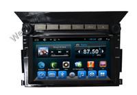 Wholesale Touchscreen Mirrors - Car dvd gps navigation system touchscreen built in audio wifi 3g mirror link for Honda Pilot