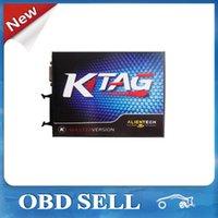 Wholesale Tunning Audi - 2015 Latest V2.10 KTAG K TAG ECU Programming Tool Master Version ECU Chip Tunning K-TAG For Multi-brand Free Shipping