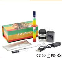 ingrosso penna snoop dogg erba a secco-Snoop Dogg Bob Marley Starter Kit Dry Herb Vaporizzatore Vape Pen Kit E Cig Herbal VS Snoop Dog G Pro Kit DHL Free