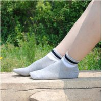 Wholesale Cheap Men S Socks Wholesale - Solid Color Cotton Natural Men Cotton Material Short Sock Ankle Man and Women Cotton Socks Comfortable Wear Socks Brand Quality Sock Cheap S