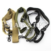 Wholesale Rifle Shooting Sports - Armiyo Tactical 2nd Generation Mission Belt Sling System Outdoor Sport Hunting Shooting Swivel Rifle Carry Airsoft Sling Tactical Gun Sling