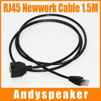 Wholesale Black Network Cable - 1.5M RJ45 Ethernet Network Cable Patch Cable Male to Female High Speed Cable 1.5M Black 100pcs up
