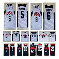 7eb4887d338 Basketball Men Sleeveless NCAA 2012 Olympic Games USA Dream Team  5 Kevin  Durant  6