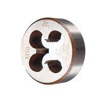 Wholesale Rubber Mallet Set - Metric Thread Die Pitch Left Hand M10 Multiple Property kit Alloy Steel Die Wrench Set for metalworking Metal Working DIY tool order<$18no t