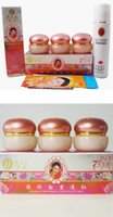 Wholesale Yiqi Facial Creams - Wholesale-YIQI GOLDEN Beauty Whitening 2+1 cream+ facial cleanser+2pcs gifts taiwan skin care effective in 7 days red cover