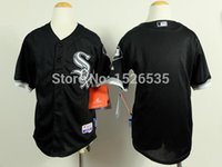 Wholesale Plain Shirts Kids - 30 Teams- Freeshipping New cheap sale plain Chicago White Sox blank jerseys with no name no number baseball shirts kids youth wholesale!